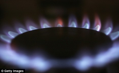 Soaring: Gas and electircity bills are up again this winter - and consumers are struggling to pay