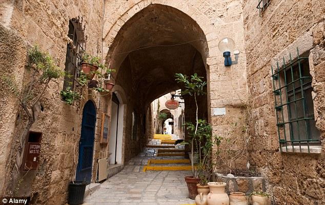 An old street in Jaffa