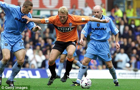 Play up Pompey: Prosinecki in action against Coventry in 2001