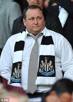 Enemy No 1: Newcastle fans are not happy with owner Mike Ashley