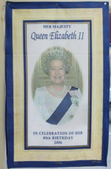 Birthday: The £3.99 tea towell to comemorate the 80th Birthday of Queen Elizabeth II.