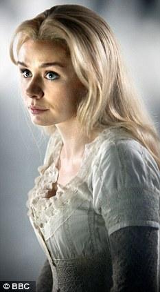 Stunning: The episode marks Jenkins' acting debut