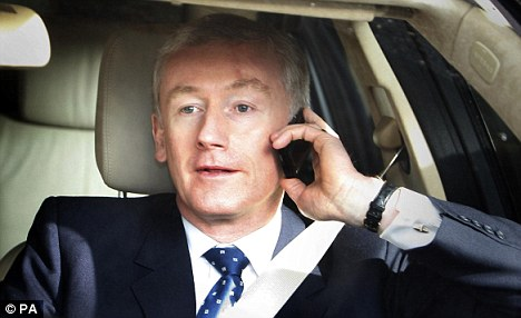 Slap on the wrist: Former RBS chief executive Sir Fred Goodwin and his colleagues escaped censure from the FSA