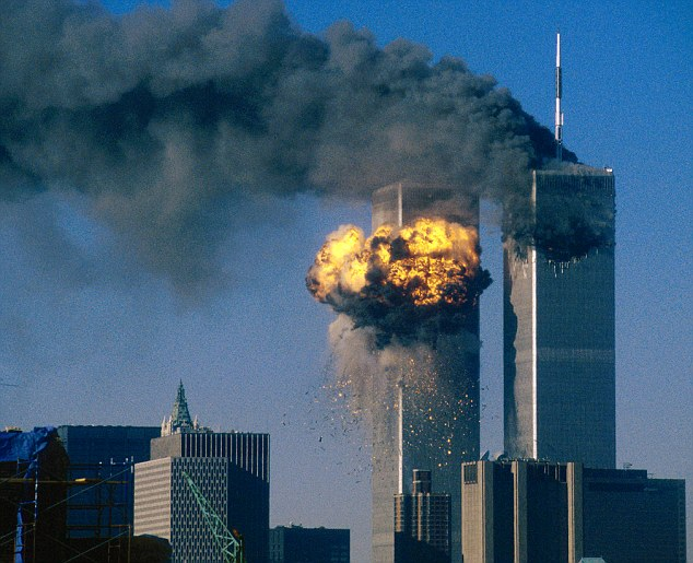 A total of 2,977 people were killed when Al Qaeda militants crashed hijacked airliners into the World Trade Center
