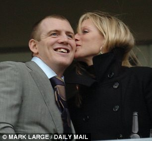 The couple in 2005 at the Cheltenham Festival