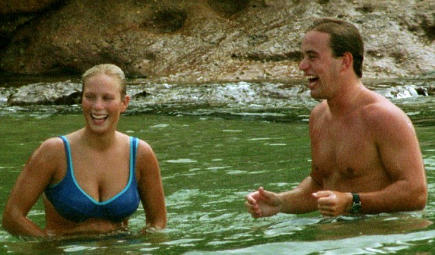 1999: After her A-levels at Gordonstoun in Scotland, Zara left Britain for a gap year. She enjoyed a romance with Angus Murray while travelling in Australia. He followed her to Britain but the relationship petered out before long