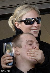 2006: Relaxed and informal together, Zara and Mike cheer a winning horse at Cheltenham races. That year they moved into a cottage on Princess Anne's Gatscombe estate