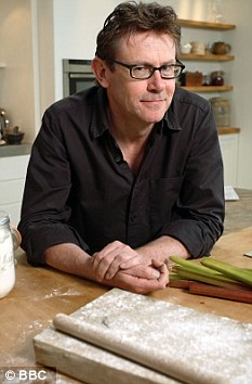 Food for thought: Nigel Slater's mother wasn't much of a cook, but her inedible Christmas cake held the family together