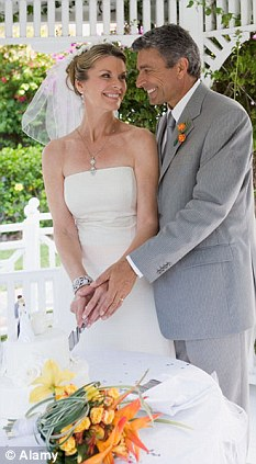 Marrying up: European women still aspire to wedding financially successful men, a report has claimed