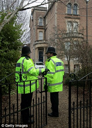 Police continue to examine the property of Christopher Jefferies today