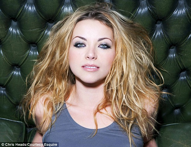 Controversial: Charlotte Church poses for a sexy new photoshoot in Esquire magazine as she reveals her true feelings about Tony Blair, the Queen and George W. Bush