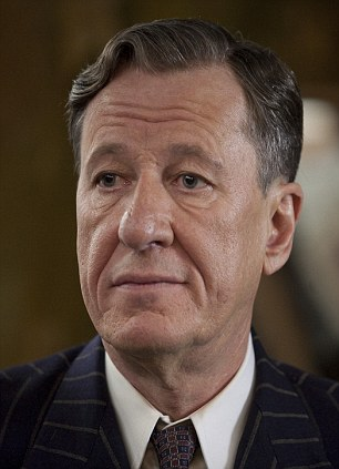 Critically-acclaimed: The King's Speech, in which Lionel Logue is played by Geoffrey Rush, is tipped to win a lot of awards