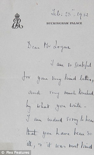 Letter from the Queen Mother