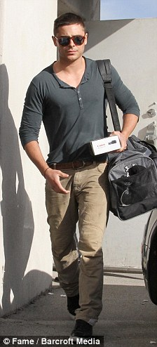 Broken up? Zac and Vanessa spotted out and about last week in Los Angeles