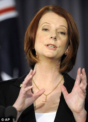 Australia's PM Julia Gillard warned that the nation needs to 'brace itself' for more flooding and an increase in the death toll