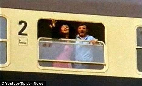 Auf wiedersehen: The commercial was for a line of German trains