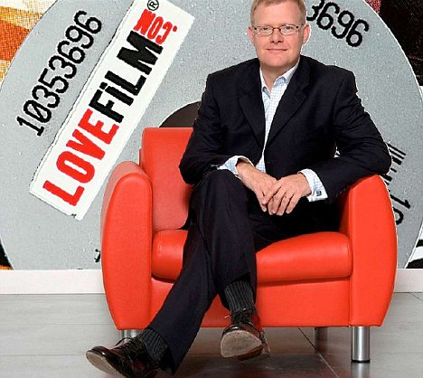Lovefilm's chief executive Simon Calver