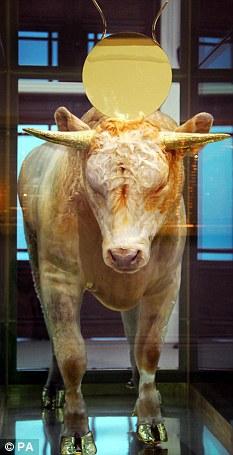 Golden Calf: sold for £10.3million