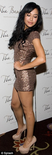 Strike a pose: It is the second year running the starlet has jetted to sin city for her birthday, partying at The Mirage last year