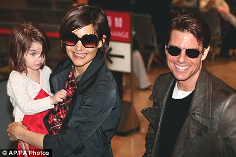 New mum: Tom has gone on to have daughter Suri with Katie Holmes, who Nicole's adopted children now think of as their mother