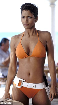 Hasn't aged a day: Halle Berry in THAT bikini in Die Another Day