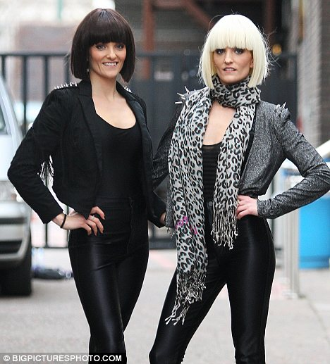 They're back: Edele and Keavey have reunited and are now called Barbarella