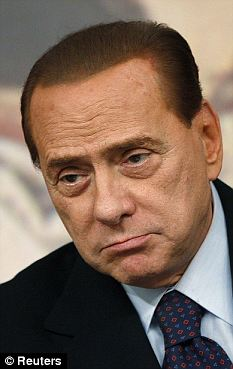Exposed: The photographs are alleged to show Silvio Berlusconi naked in the company of various women