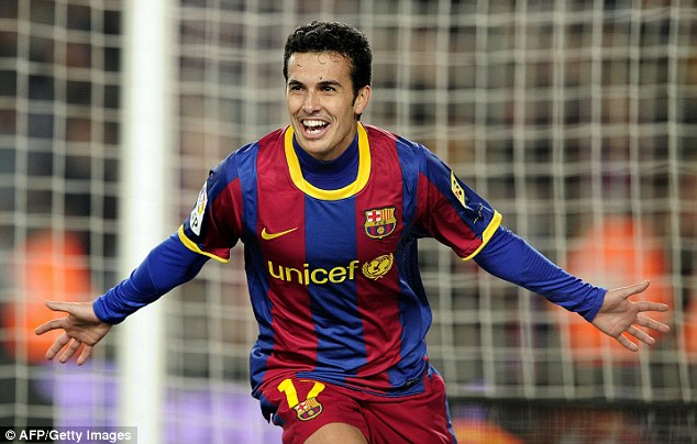 Pure class: Pedro has won almost every honour in the game, yet remains an unsung hero