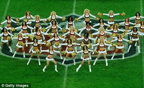 Routine: Only six NFL teams do not have cheerleading squads