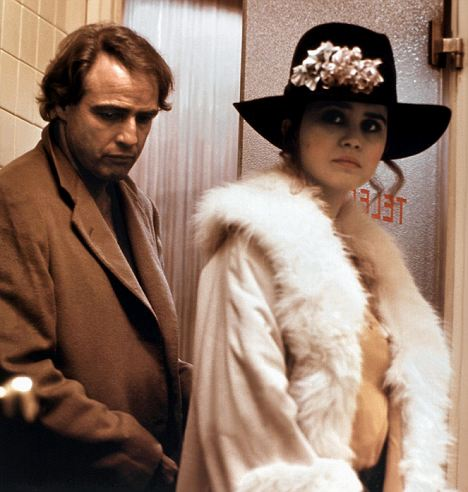 Iconic role: Maria Schneider with Marlon Brando in Last Tango In Paris (1972), directed by Bernardo Bertolucci