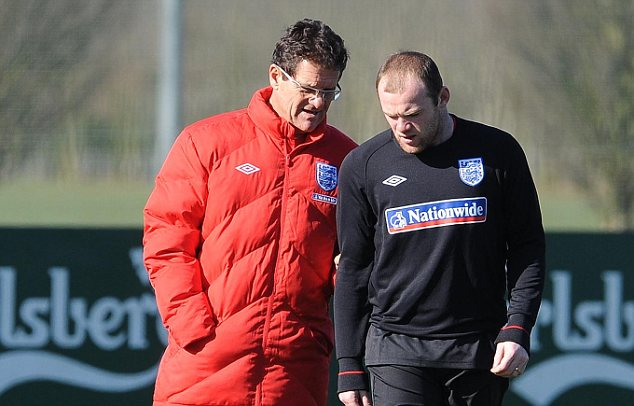 Fabio Capello needs the likes of Wayne Rooney to help develop young talent