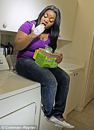 Tempestt Henderson is addicted to eating soap and laundry detergent