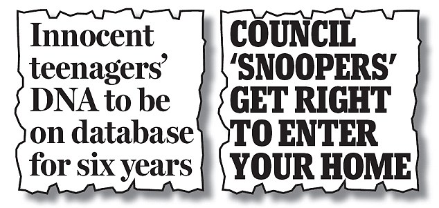 The Mail on November 12, 2009 and October 25, 2006