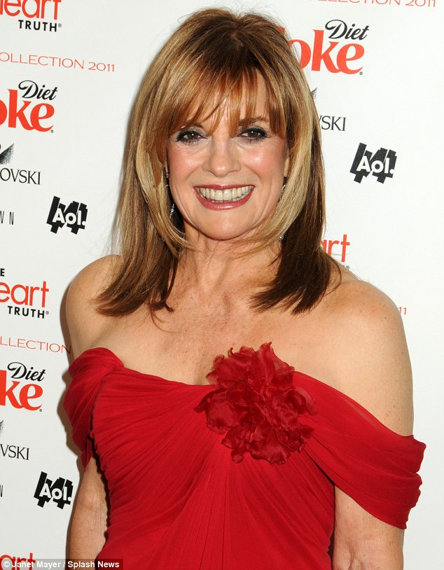 Not a wrinkle in sight! Linda Gray was looking reamarkably youthful as she took to the catwalk in New York yesterday. The 70-year-old actress is preparing to go reprise her role as Sue Ellen in Dallas