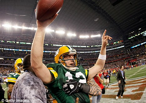 Fallout: The Green Bay Packers (#12 Aaron Rodgers, pictured) won the Super Bowl, which has since attracted controversy over seating and now the flyover