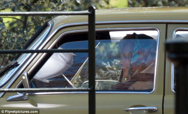 Maggie the driving instructor: Meryl Streep films a scene for the Margaret Thatcher biopic The Iron Lady