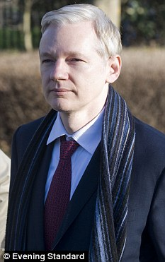 WikiLeaks boss Julian Assange arriving at Belmarsh Magistrates Court for an extradition hearing