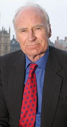 BBC presenter Peter Snow