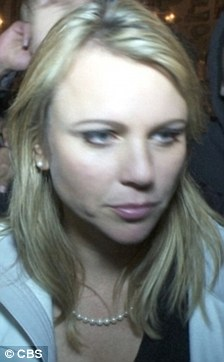Attack: CBS News correspondent Lara Logan pictured shortly before she was assaulted in Tahrir Square while she was reporting on the Egyptian protests. There is no suggestion any of the men pictured were involved in the attack