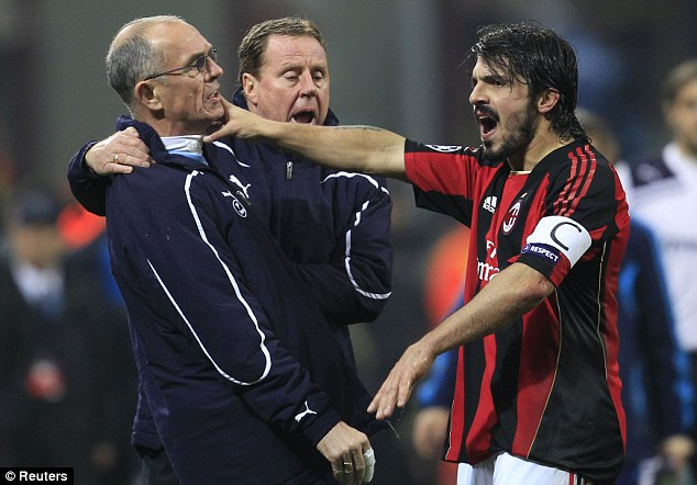Flashpoint: Gattuso has landed himself in hot water following his confrontation with Jordan