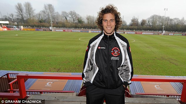 Crawley's Argentine midfielder Sergio Torres