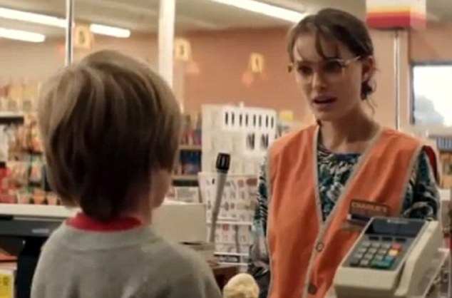 Crush: Natalie's character Nancy is the object of affection of a young boy called T.J.
