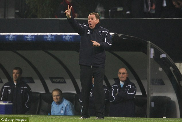 Two easy: Redknapp dictates matters at the San Siro
