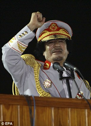Charismatic and wildly unpredictable: But Gaddafi has managed to stay aloof up until now