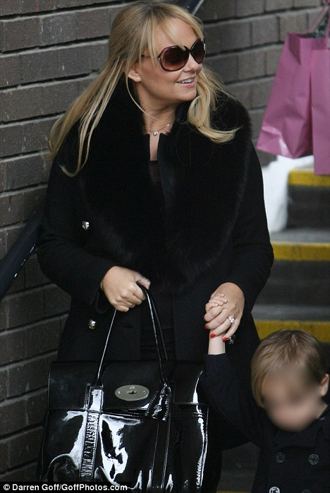 Special connection: The 35-year-old is expecting her second child, another son, with fiance Jade Jones, and said that a new baby always brings her closer to Victoria Beckham, Geri Halliwell, Mel B and Mel C