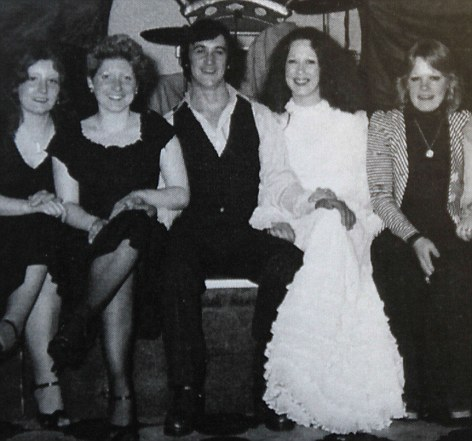 Anne McCreesh & Chris Jackson met & married in the 1970's