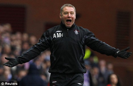McCoist wanted to be Rangers manager, regardless of the circumstances