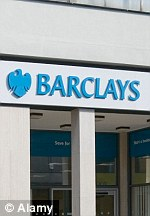 Rip off: Barclays Bank, HSBC and taxpayer-backed groups Lloyds Banking Group and Royal Bank of Scotland have agreed to review their practices