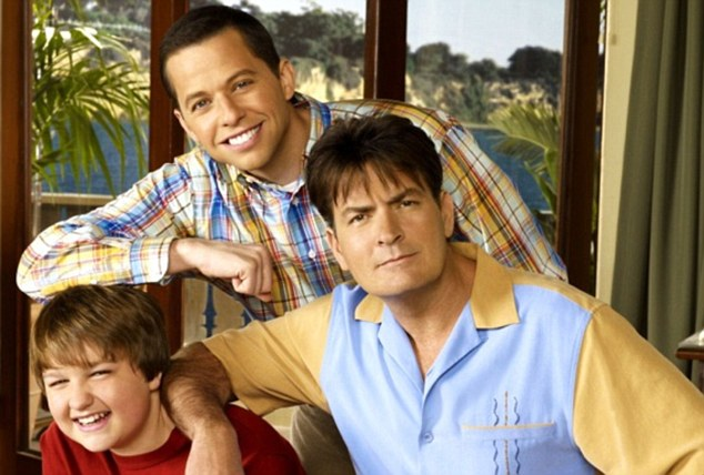 Moving on: Just a day after Two And A Half Men was cancelled, Sheen claims he is in negotiation for a new show with rival network HBO