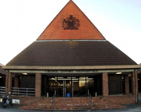 Guildford Crown Court: The judge heard the allegation started as a lie to get her father in trouble with her boyfriend
